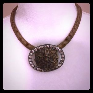 Jewelry - 🧡 Beautiful Antique brass necklace 15 inches